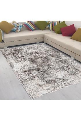 Best Home Latex Taban Dijital Baskılı Saçaklı Halı Kayra Vizon 80X200 Cm