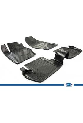 Citroen C4 2011- 3D Novline Paspas Siyah 4 Prç
