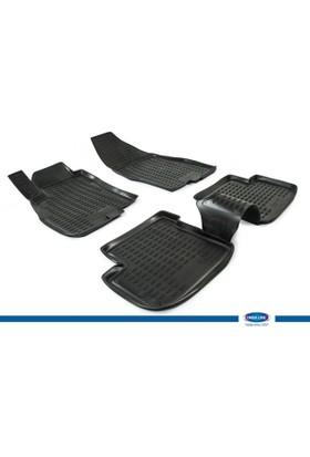 Fiat Grande Punto 2005-2012 3D Novline Paspas Siyah 4 Prç