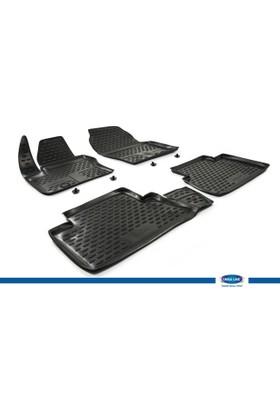 Ford C-Max II 2010- 3D Novline Paspas Siyah 4 Prç