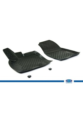 Ford Courier 2014- 3D Novline Paspas Siyah 2 Prç