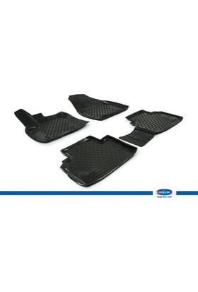 Ford Courier 2014- 3D Novline Paspas Siyah 4 Prç
