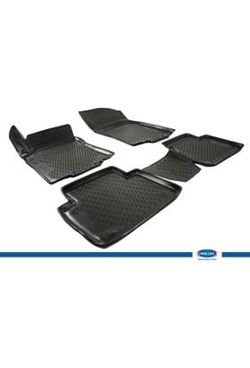 Nissan X-Trail 2014- 3D Novline Paspas Siyah 4 Prç
