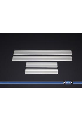 Nissan X-Trail Kapı Eşiği 4 Parça Paslanmaz Çelik (Yazısız) 2014-
