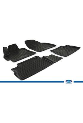 Toyota Auris I 2007-2013 3D Novline Paspas Siyah 4 Prç