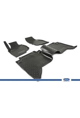 Toyota Hilux 2008-2011 3D Novline Paspas Siyah 4 Prç