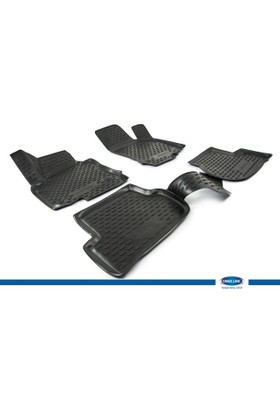 Volkswagen Golf VI 2009-2013 3D Novline Paspas Siyah 4 Prç