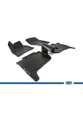 Volkswagen Toureg 2010- 3D Novline Paspas Siyah 4 Prç