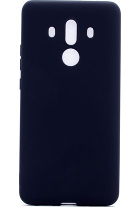 Case 4U Huawei Mate 10 Pro Kılıf Mat Silikon Premier Siyah