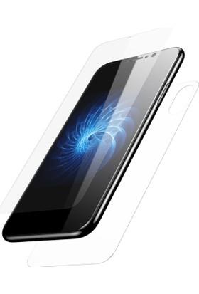 Case 4U Apple iPhone X Ön ve Arka Koruyucu Temperli Cam