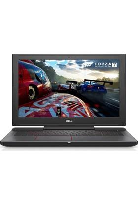 """Dell 7577 Intel Core i7 7700HQ 16GB 1TB + 128GB SSD GTX1050Ti Freedos 15.6"""" FHD Taşınabilir Bilgisayar FB70D128F161C"""