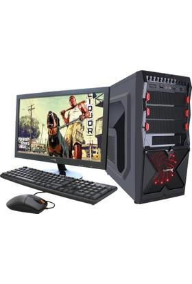 "Turbox TR900044 Intel Core i3 530 8GB 500GB R7 240 18.5"" Masaüstü Bilgisayar"
