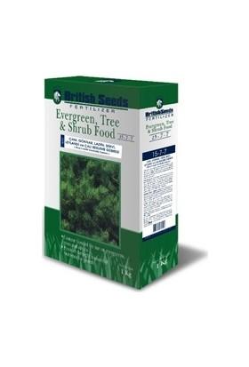 British Seeds 15-7-7 Herdem Yeşil Ağaç ve Çalı Gübresi - Granül NPK Gübre - 1 kg