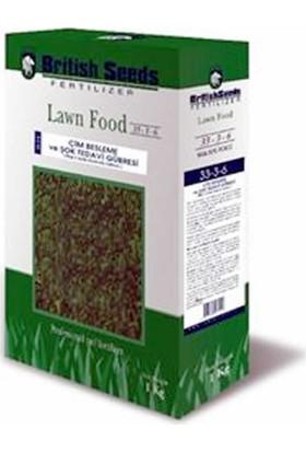 British Seeds 33-3-6 Çim Besleme Ve Şok Tedavi Gübresi - 1kg Kutu