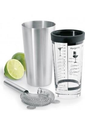 Zem Boston Shaker ve Kokteyl Süzgeç - Zafer Endüstriyel Mutfak