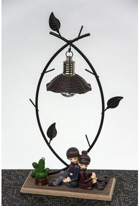 Mukko Home Sevgili Okuma Lambası Biblo 23 cm