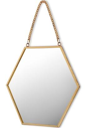 The Mia Brass Ayna 17 x 15 cm