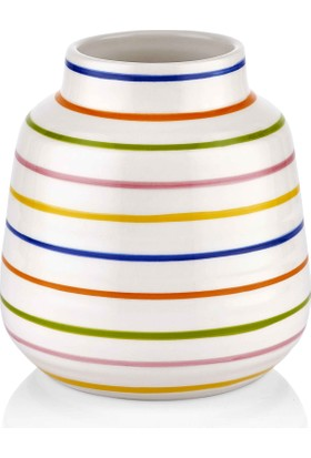 The Mia Vazo - 16 cm Çok Renkli