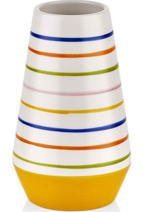 The Mia Vazo - 17 cm Çok Renkli