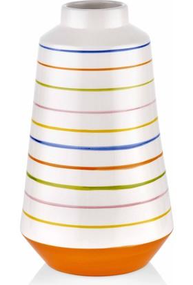 The Mia Vazo - 30 cm Çok Renkli