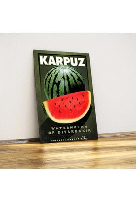 Javvuz Diyarbakır Karpuzu - Metal Poster