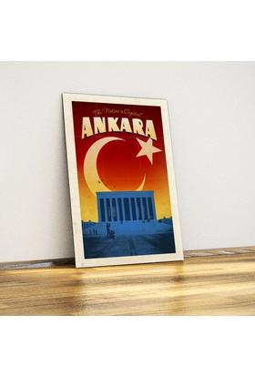 Javvuz Ankara Anıtkabir - Dekoratif Metal Poster