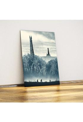 Javvuz İki Kule - Metal Poster