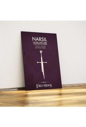 Javvuz Aragorn'Un Kılıcı Narsil - Metal Poster