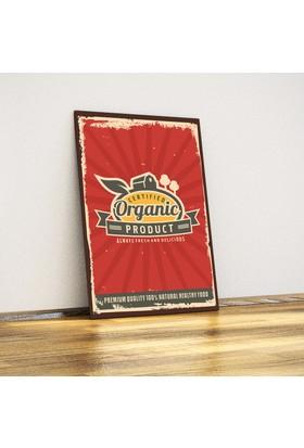 Javvuz Organic - Retro Metal Plaka