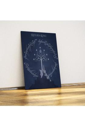 Javvuz Kralın Dönüşü Metal Poster