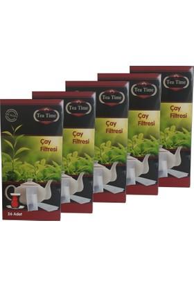 Tea Time Çay Demleme Poşeti Filtresi 20'li Paket Toplam 520 Poşet
