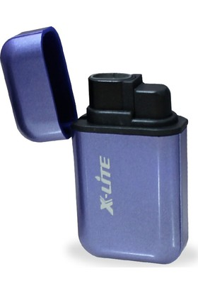 X-Lite 1300 C Çift Pürmüz Alev Parlak Renk Çakmak Si
