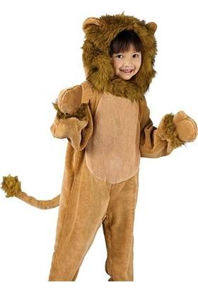 Kostümce Çocuk Aslan Kostümü