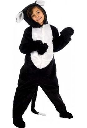 Kostümce Kedi Kostümü Çocuk Hayvan Kıyafeti