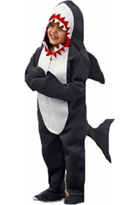 Kostümce Köpek Balığı Kostümü Çocuk