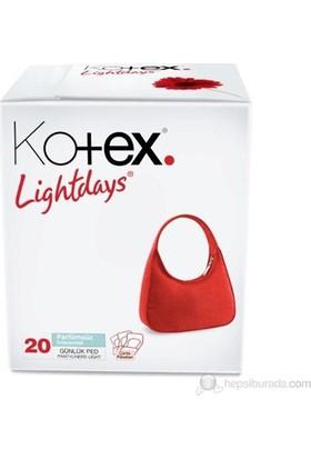 Kotex Lightdays Non - Perfume 20'li