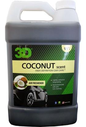 3D HD Coconat - Hindistan Cevizli Oto Parfümü 3.79 lt 911 G01 CO