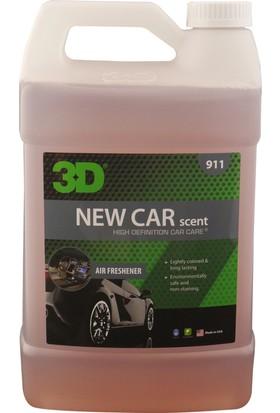 3D New Car Perfume - Yeni Araç Kokusu 3.79 lt 911 G01 NC