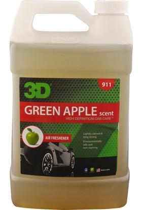 3D HD Green Apple - Yeşil Elma Oto Parfümü 3.79 lt 911 G01 AS