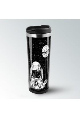 iF Dizayn Astronot ve Uzay Termos Kupa Bardak Mug