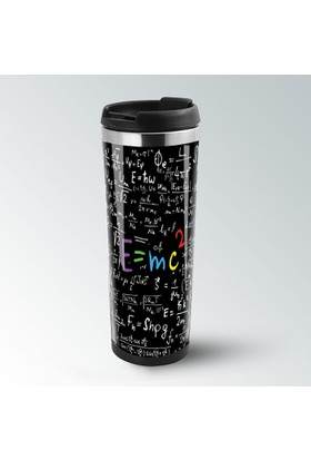 iF Dizayn E=mc2 Einstein Termos Kupa Bardak Mug