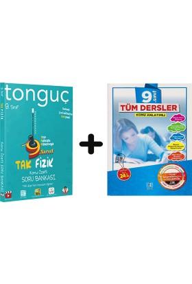 Tonguç Akademi 9. Sınıf Fizik + Bkd 9 Tüm Dersler Soru Bankası