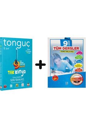 Tonguç Akademi 9. Sınıf Kimya + Bkd 9 Tüm Dersler Soru Bankası