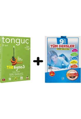 Tonguç Akademi 9. Sınıf Biyoloji + Bkd 9 Tüm Dersler Soru Bankası