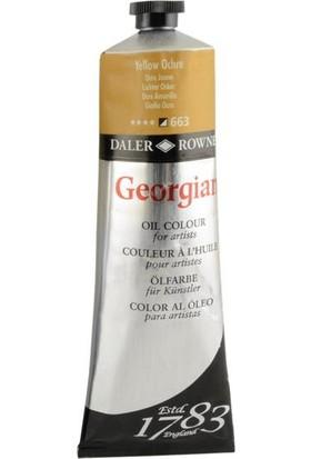 Daler Rowney Georgian Yağlı Boya 225ml - N:663 Yellow Ochre