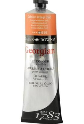 Daler Rowney Georgian Yağlı Boya 225ml - N:619 Cadmium Orange