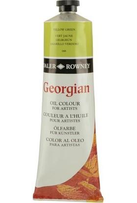 Daler Rowney Georgian Yağlı Boya 225ml - N:388 Yellow Green