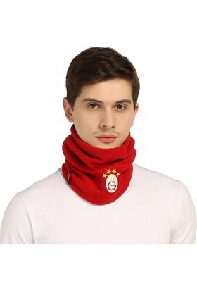 Galatasaray Lisanslı Polar Boyunluklu Bere