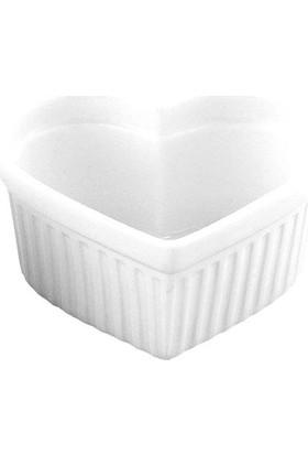 Globy Kalpli Porselen Sufle Kabı 6'Lı