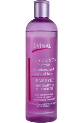 Evinal Boyalı ve Permalı Saçlar İçin Şampuan Plasenta Özlü